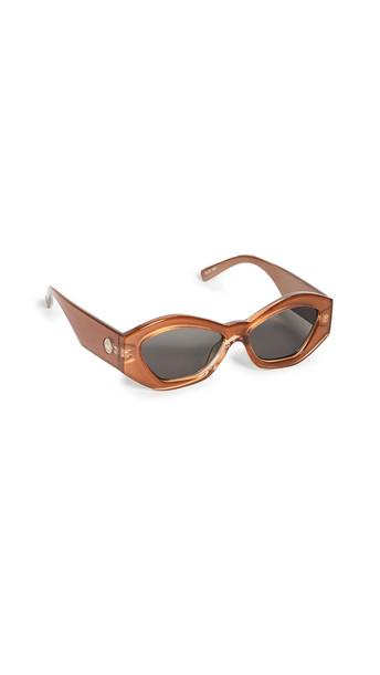 Le Specs The Ginchiest Sunglasses in tan