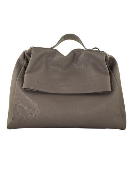 Fabiana Filippi Sabina Leather Bag in grey