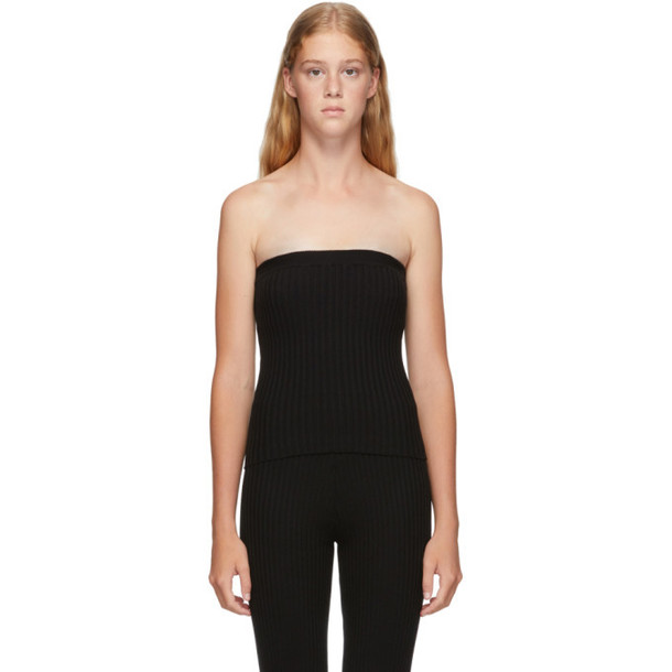 giu giu Black Nonna Tube Top