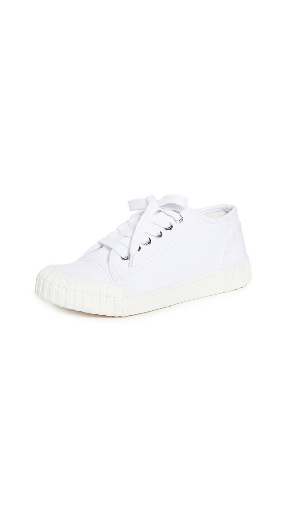 Good News Bagger Lace Up Sneakers in white