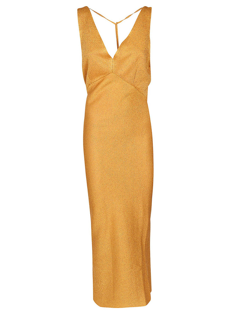 Circus Hotel Formal Dress in gold
