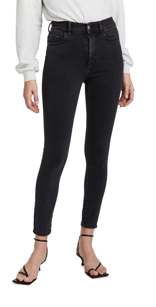 DL DL1961 Farrow Skinny High Rise Instasculpt Ankle Jeans