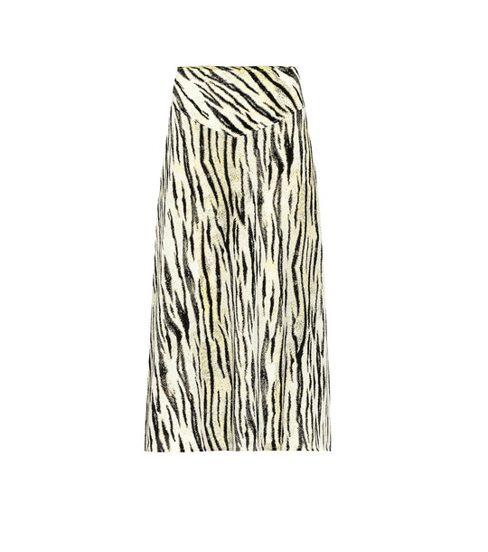 Baum und Pferdgarten Exclusive to Mytheresa – Senga tiger-print midi skirt in white