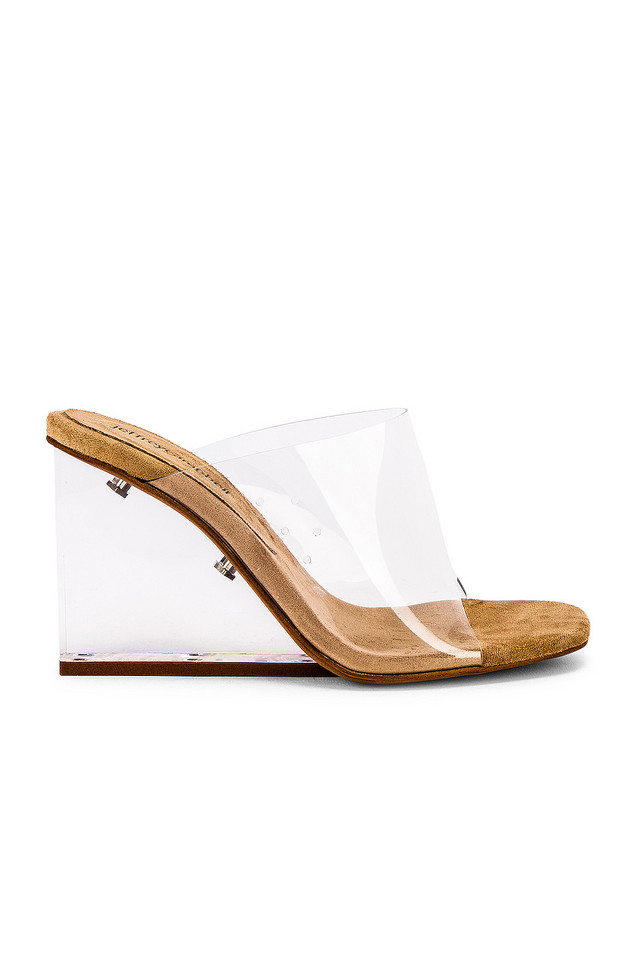 Jeffrey Campbell Acetate Mule in white
