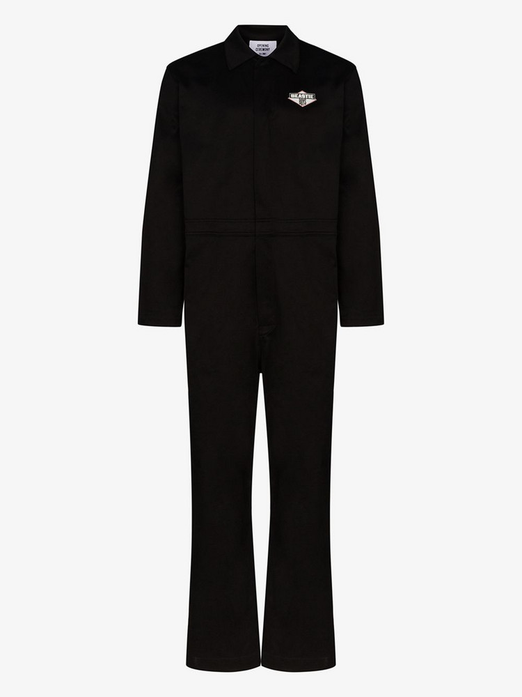 Opening Ceremony X Beastie Boys OC jumpsuit in black
