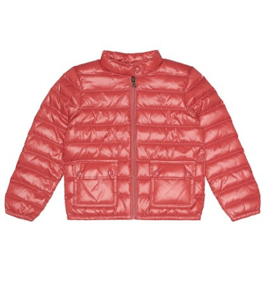 Polo Ralph Lauren Kids Quilted down jacket in pink