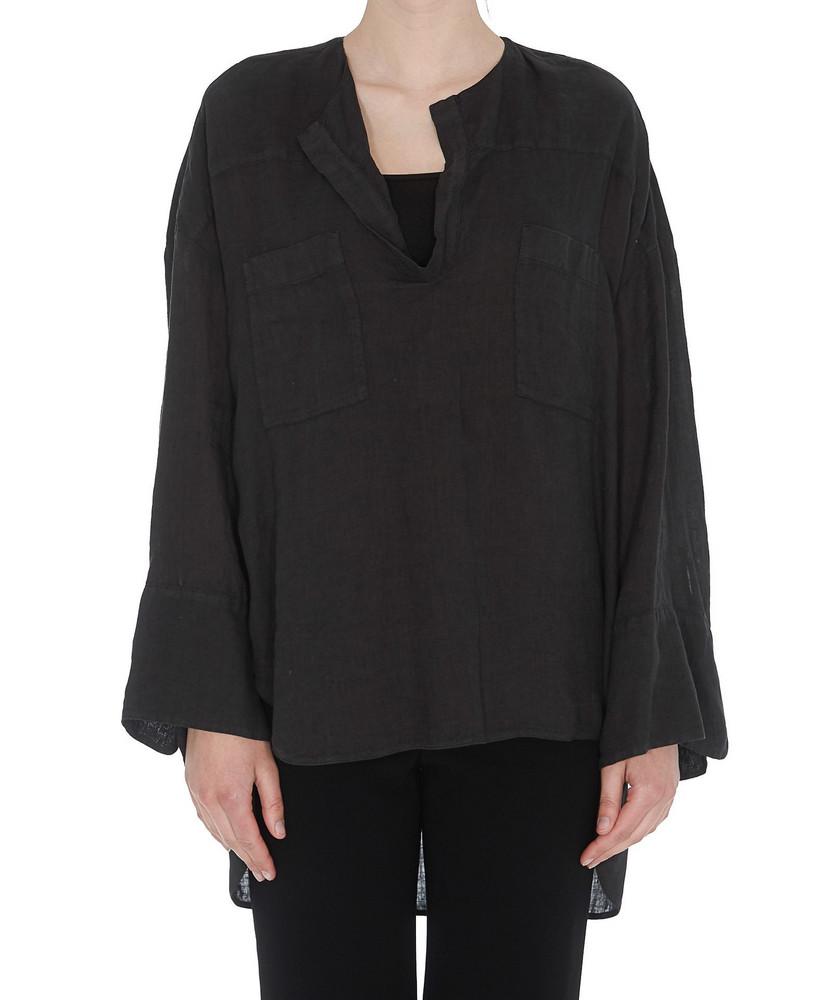 (nude) Top Shirt in black