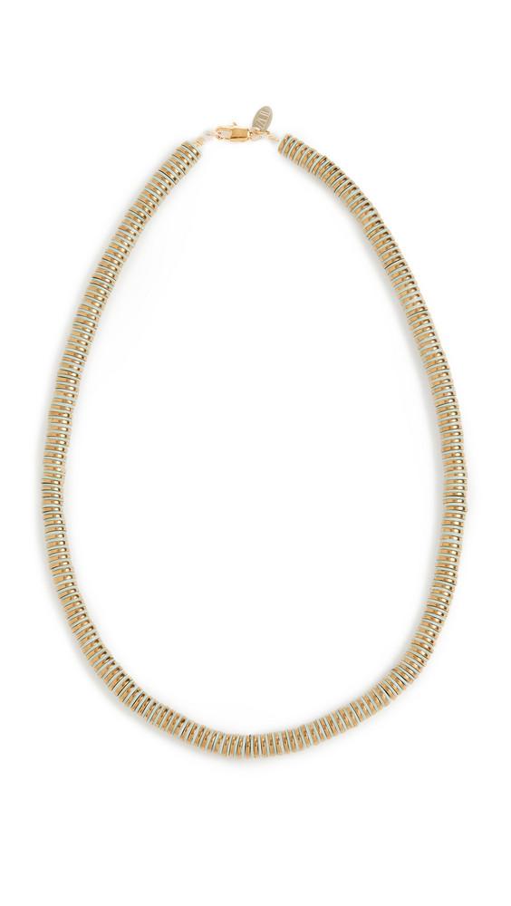 Maison Monik Leto Necklace in gold / mint