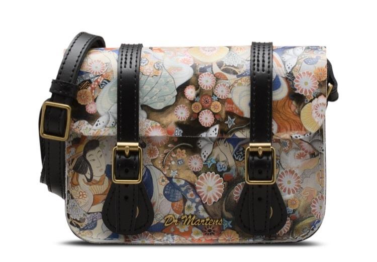 bag DrMartens satchel purse asian art boots