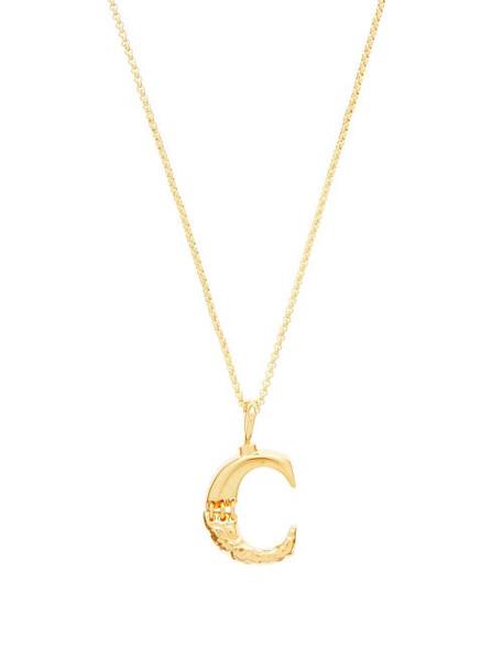 Chloé Chloé - C-pendant Necklace - Womens - Gold