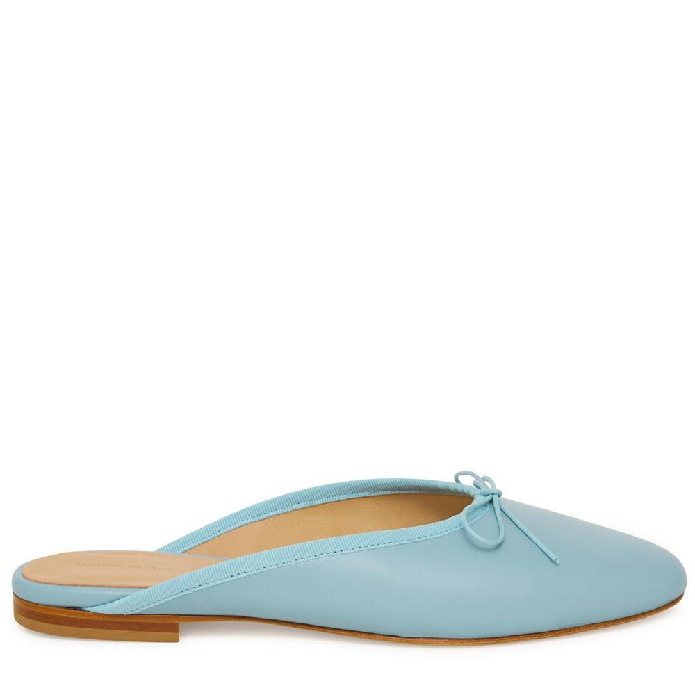 Mansur Gavriel Dream Ballerina Mule - Degas Blue