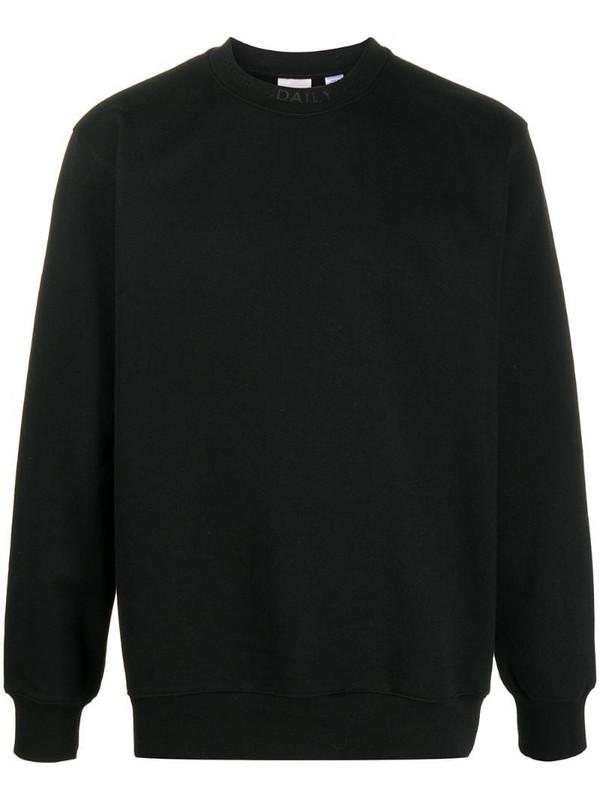 Daily Paper debossed logo sweatshirt in black