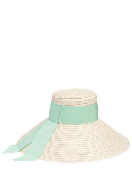 EUGENIA KIM Mirabel Straw Hat in ivory