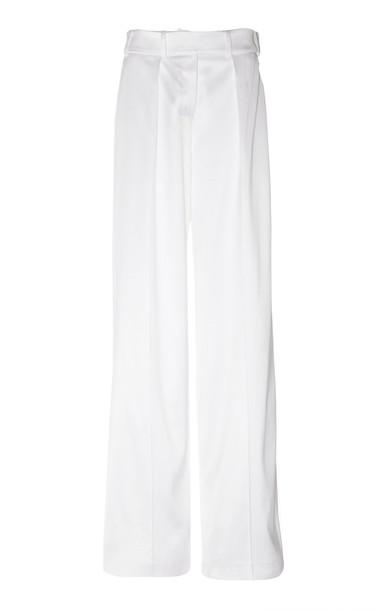Alexandre Vauthier Wide-Leg Pants in white