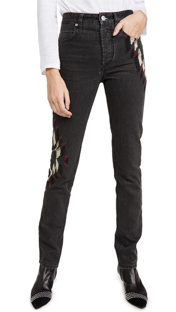 Isabel Marant Etoile Bilianab Jeans in black
