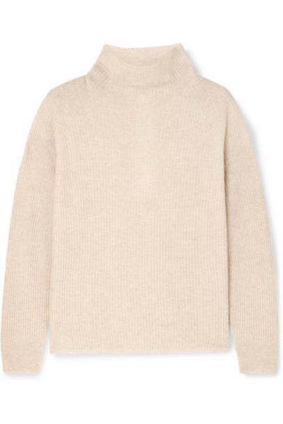 Max Mara - Leisure Rib-knit Sweater - Beige