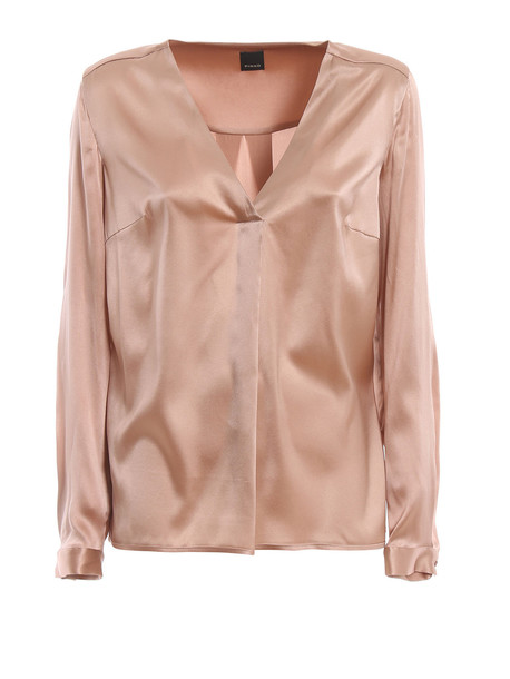 Pinko Pinko Vendere Satin Blouse in pink