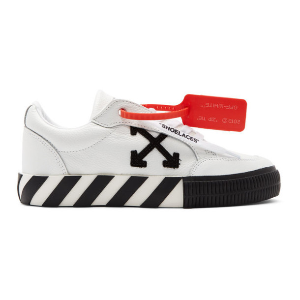 Off-White White Arrow Vulcanized Low Sneakers