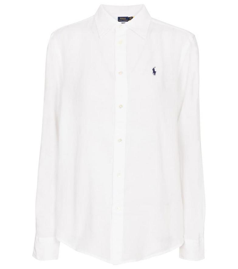 Polo Ralph Lauren Linen shirt in white