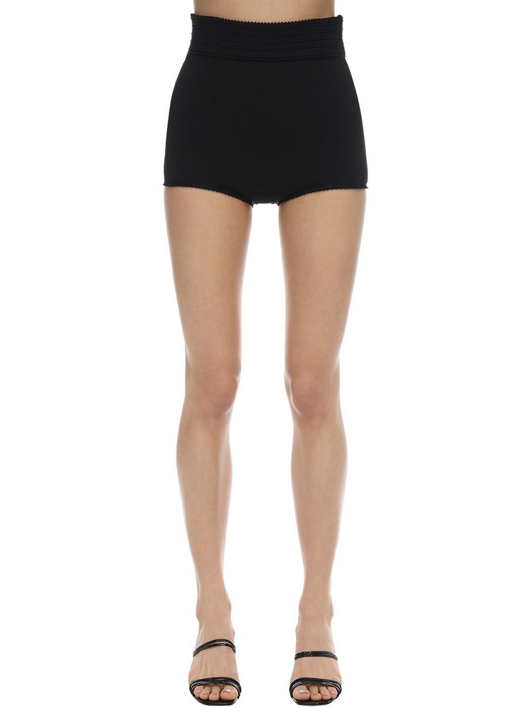 16R Rosa Stretch Jersey Shorts in black