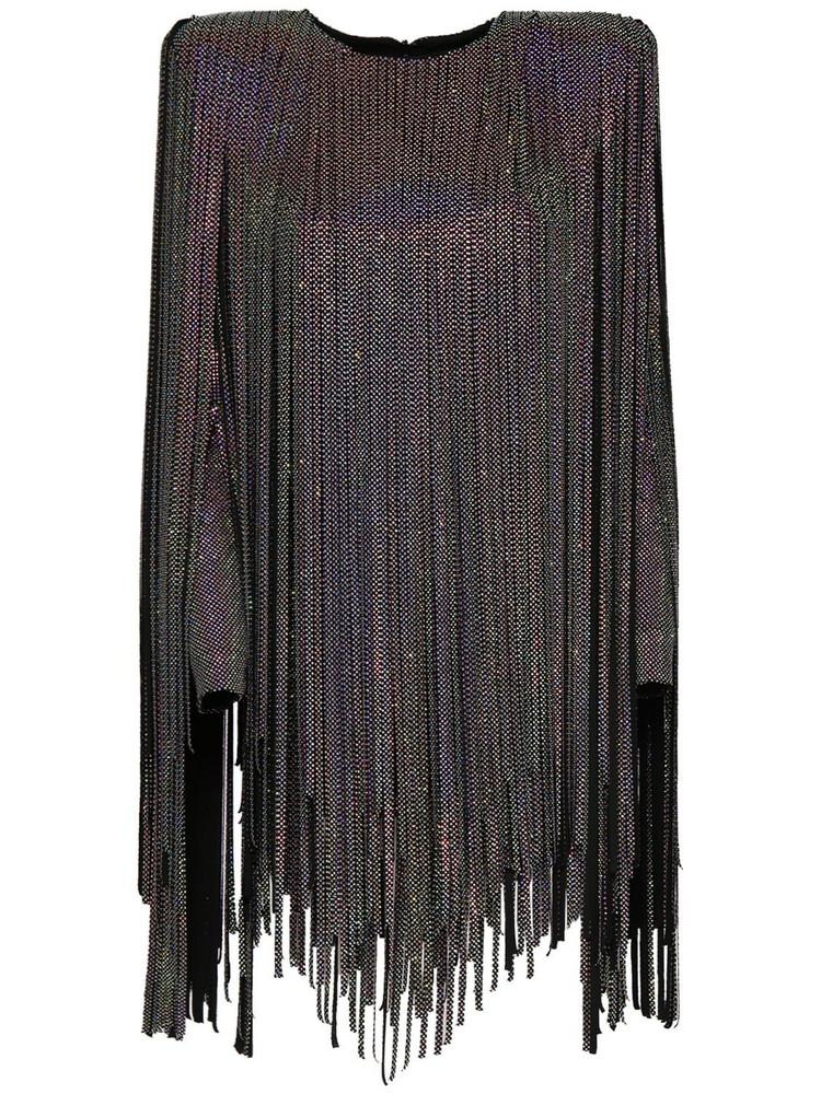 ALEXANDRE VAUTHIER Fringed Mini Dress