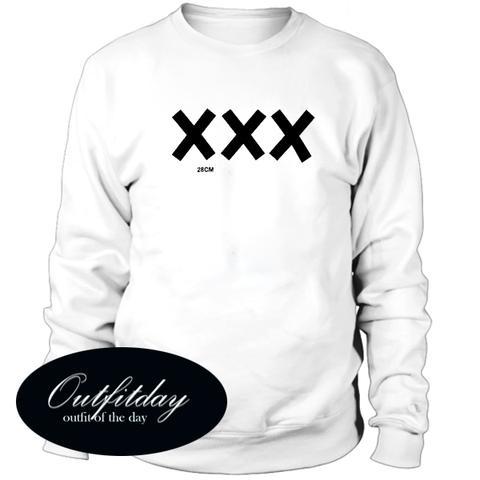 XXX 28cm Sweatshirt