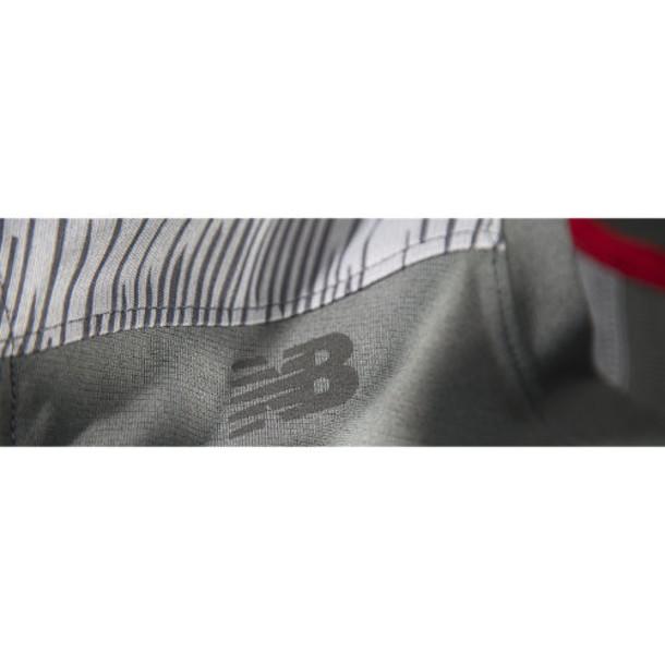 New Balance 3333 Men's NB Cross Run Short Sleeve Top - Dark Grey (MFT3333DKG)