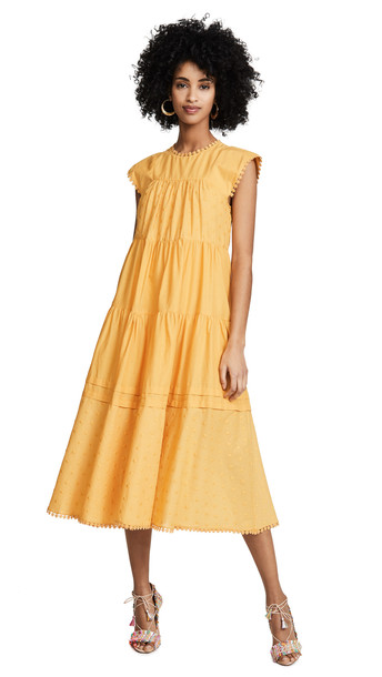 See by Chloe Tunic Dress in yellow