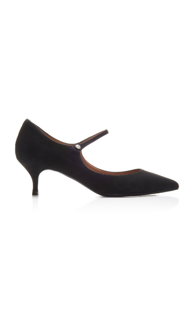 Tabitha Simmons Hermione Leather Pumps in black