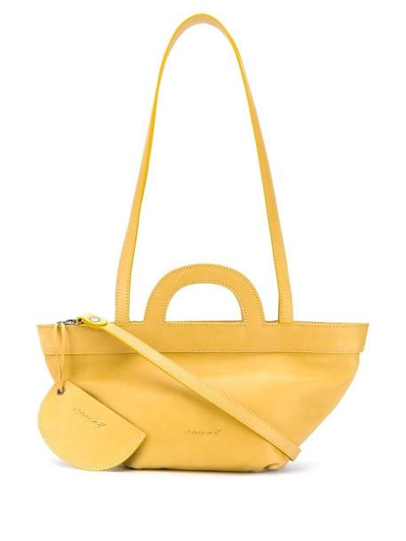 Marsèll cross body satchel bag in yellow