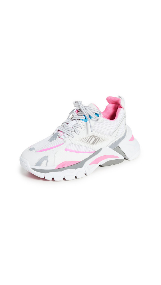 Ash Flex Sneakers in pink / white