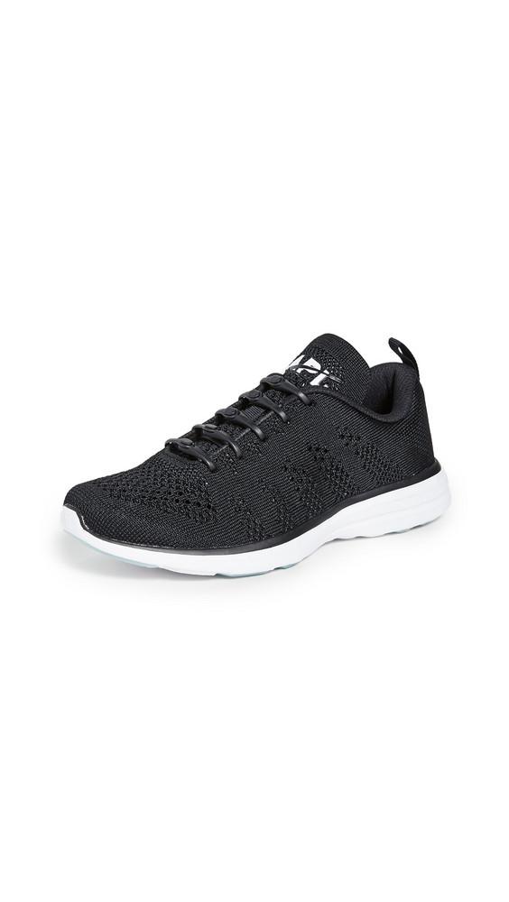 APL: Athletic Propulsion Labs TechLoom Pro Sneakers in black / white / multi