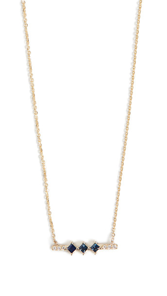 Jennie Kwon Designs 14k Sapphire Harmony Necklace in gold / yellow
