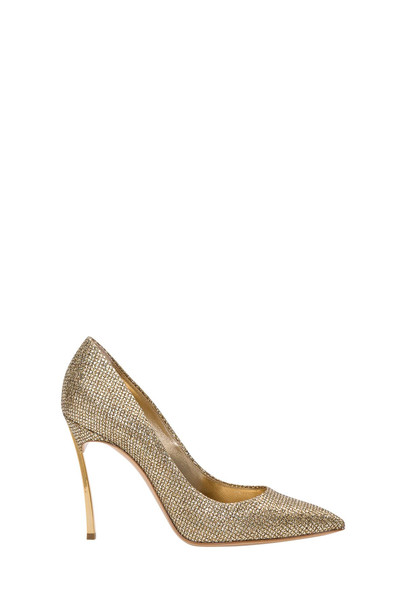 Casadei Pointy Pumps With Blad Heel