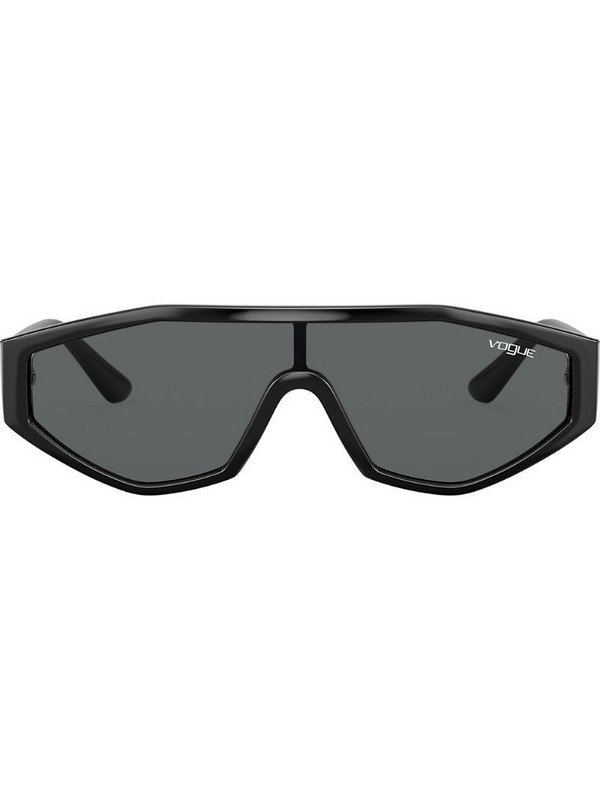Vogue Eyewear Highline visor sunglasses in black