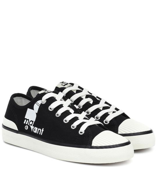 Isabel Marant Binkooh canvas low-top sneakers in black