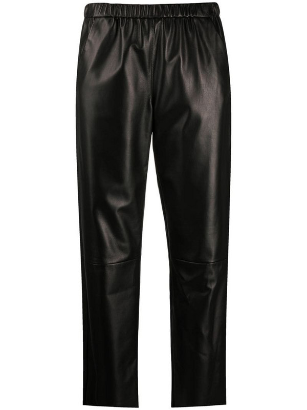 Drome high-rise cropped trousers in black