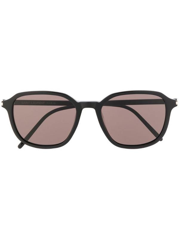Saint Laurent Eyewear SL 385 round-frame sunglasses in black