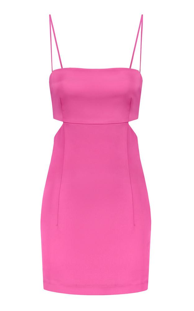 Gauge81 Marta Cutout Satin Mini Dress in pink
