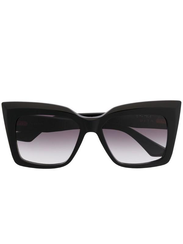 Dita Eyewear square tinted sunglasses in black