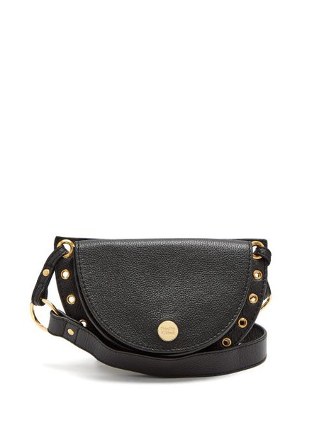 See By Chloé See By Chloé - Kriss Grained Leather Belt Bag - Womens - Black