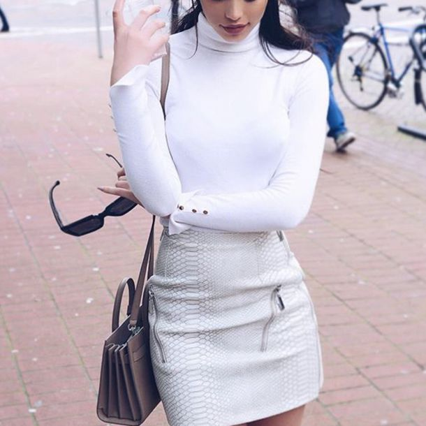 skirt leather leather skirt snake print snake summer classy white zip zipped skirt beautiful high-waist pretty tumblr tumblr outfit