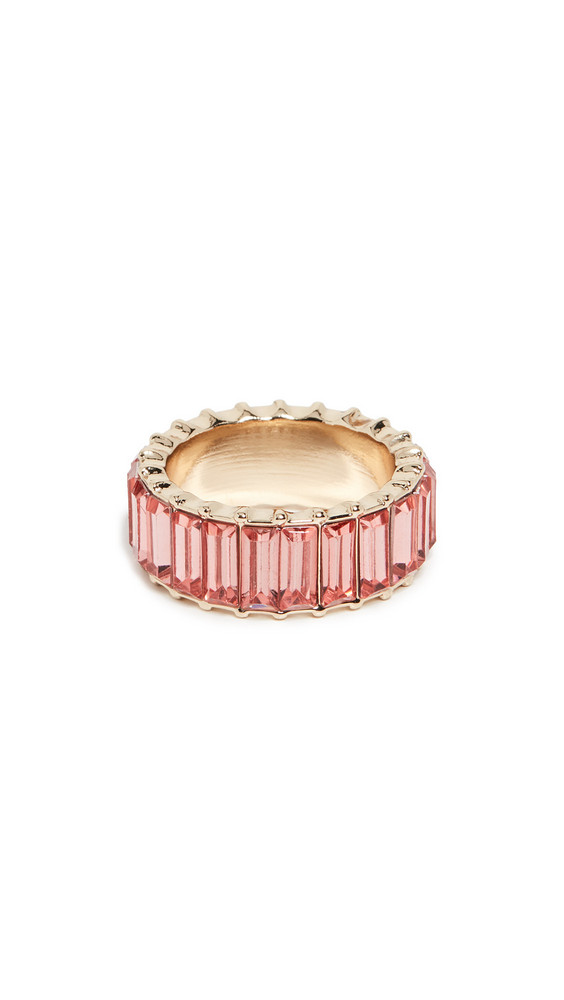 BaubleBar Alidia Ring in gold / peach / rose