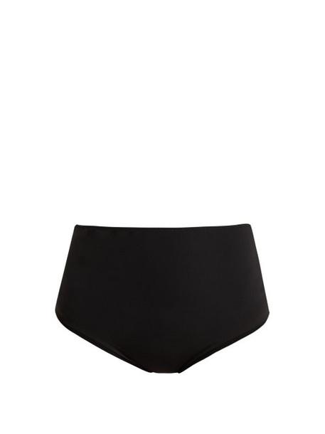 Araks - Mallory High Waisted Bikini Briefs - Womens - Black
