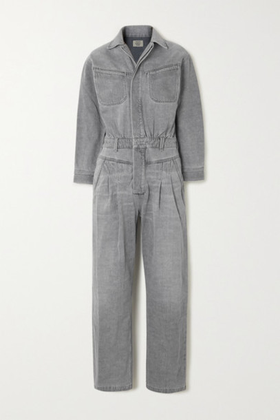 Citizens of Humanity - Mae Denim Jumpsuit - Gray