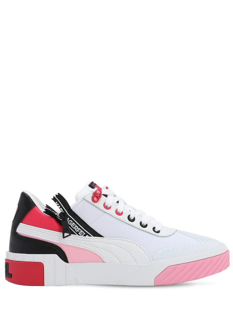 PUMA SELECT Karl Lagerfeld Cali Sneakers in pink / white