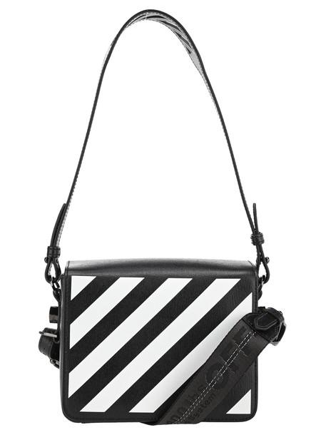 Off-White Off White Diagonal Binder Clip Bag