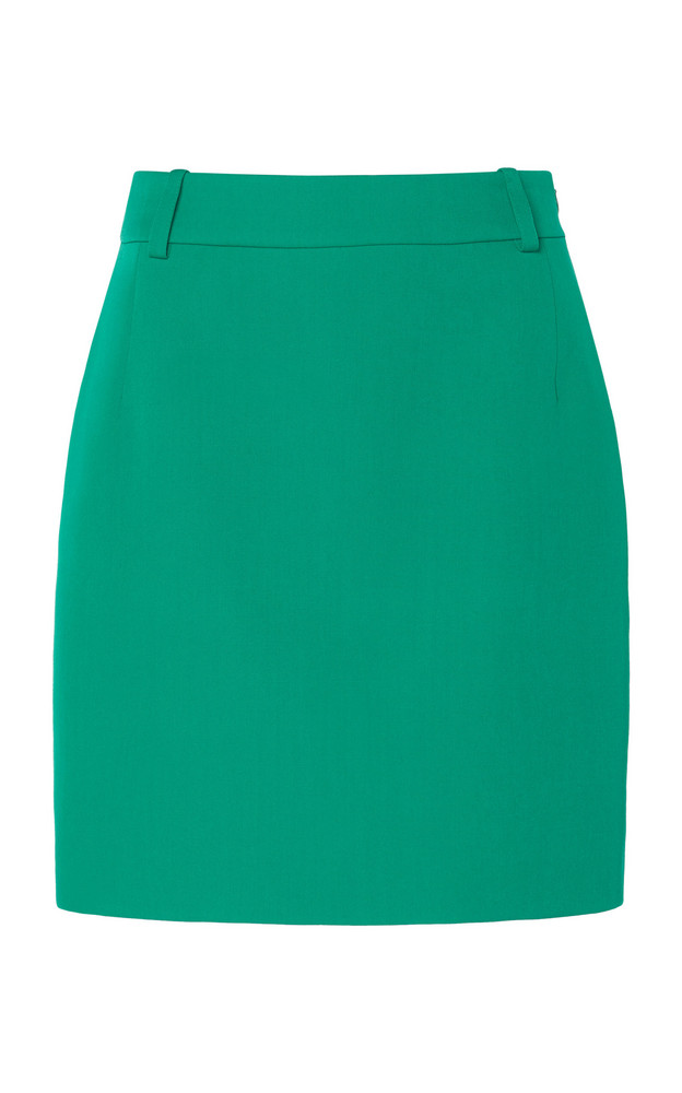 Balenciaga Fitted Mini Skirt in green