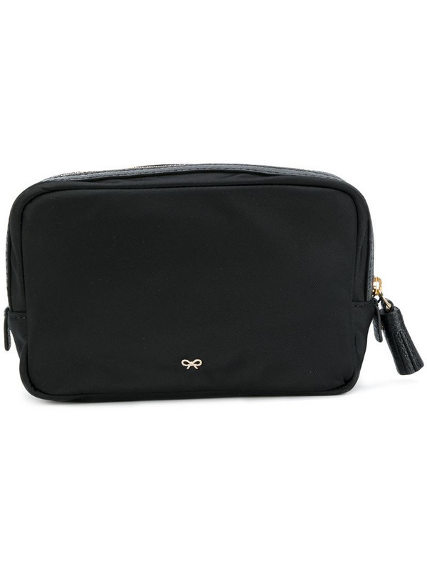 Anya Hindmarch Important Things pouch in black
