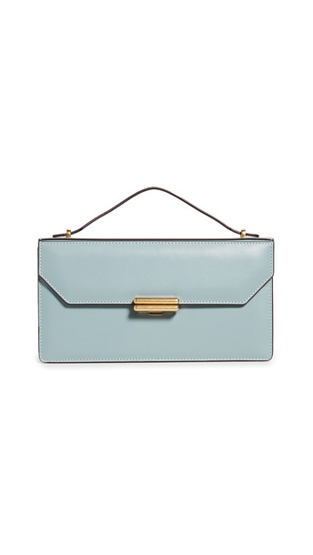 MANU Atelier Jackie Bag in blue / stone